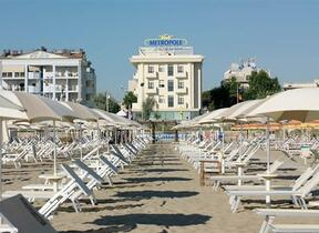 superior three Star Hotel - Rimini - Marina Centro - Bar  - hotel metropole