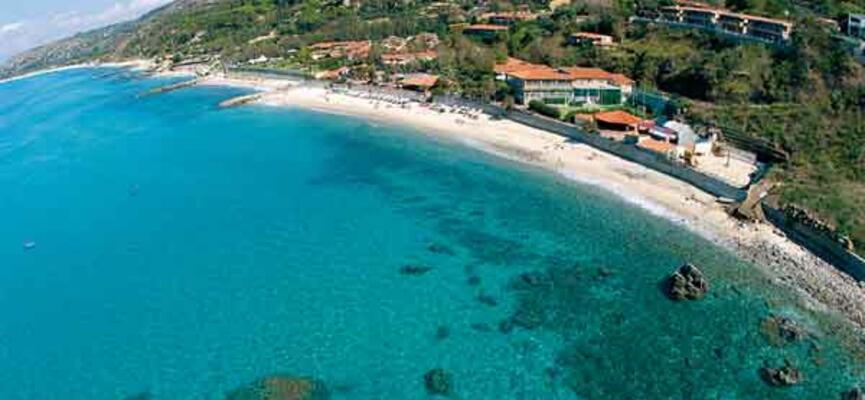 Panoramica costa Villaggio Hotel Baia tropea resort - villaggio hotel parghelia- villaggi all inclusive calabria