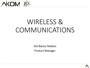 Portafoglio Prodotti Wireless Aikom Technology
