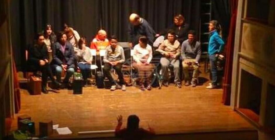 Diversamente abili a teatro al Massari