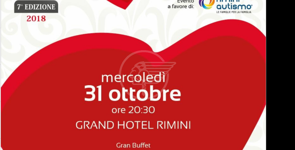 """Al Grand Hotel serata benefica pro """"Rimini autismo"""""""
