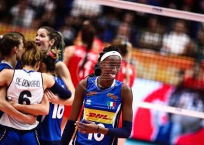 L'Italvolley femminile sconfitta in finale