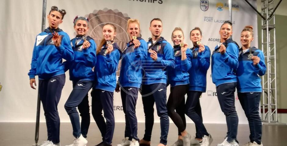 Pole dance: la Dipilato argento ai mondiali in Florida