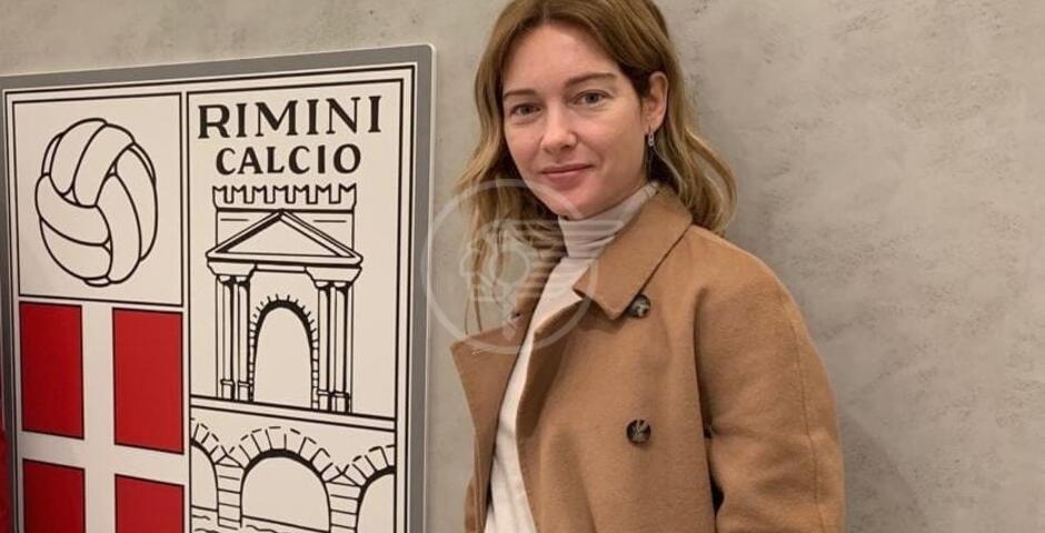 La vicepresidente Capotondi in visita alla Rimini F.C.