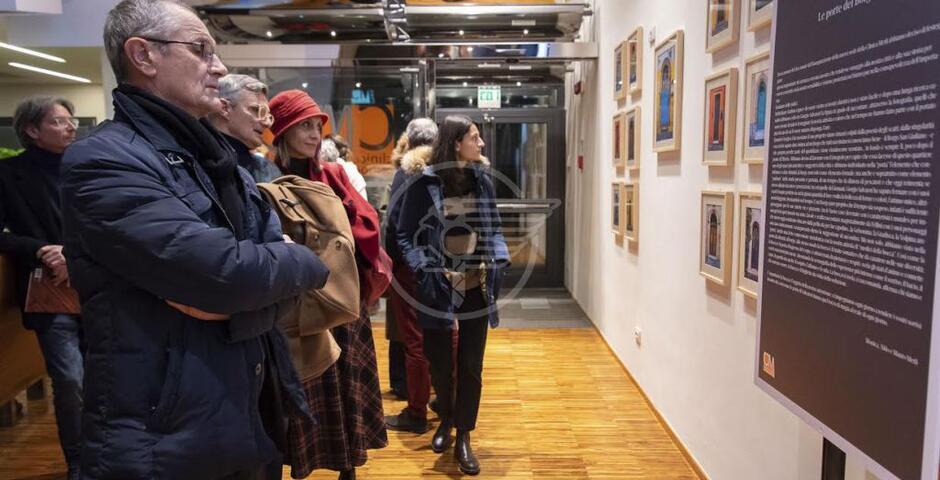Successo per la mostra di Giorgio Salvatori