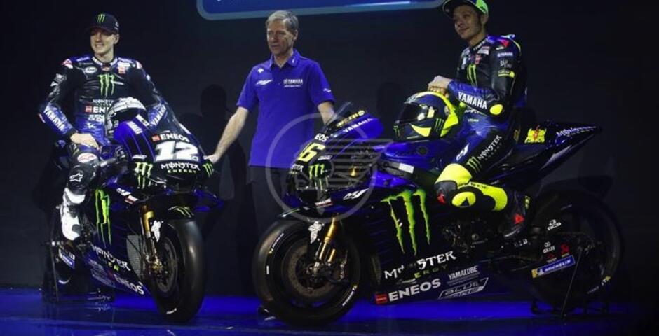"La nuova Yamaha ""interista"" piace a Valentino"