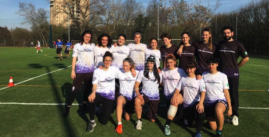 Ultimate Frisbee, gli impegni delle 4 squadre locali