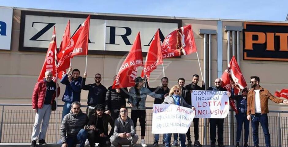 I sindacati chiedono a Zara di ripristinare la normalità con i lavoratori
