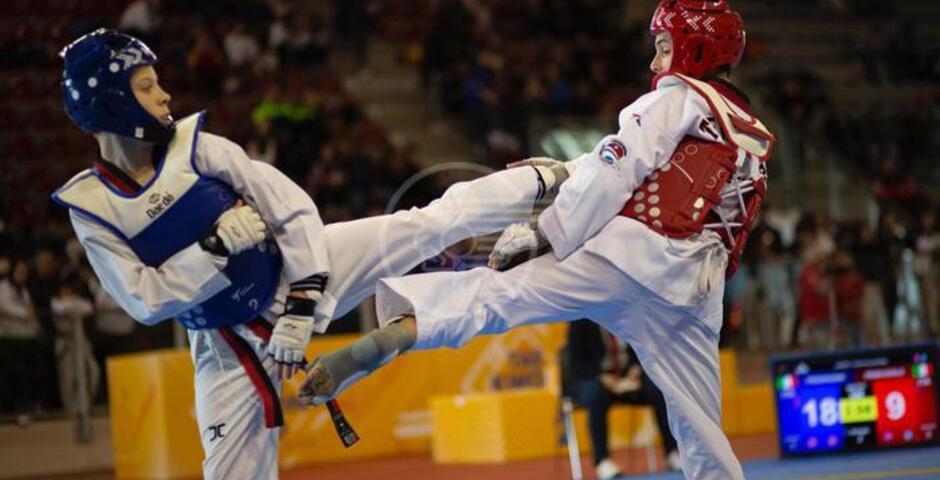 Un weekend nel segno del taekwondo giovanile