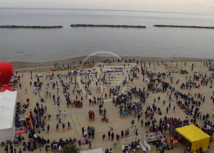 Beach volley giovanile: 9mila in arrivo