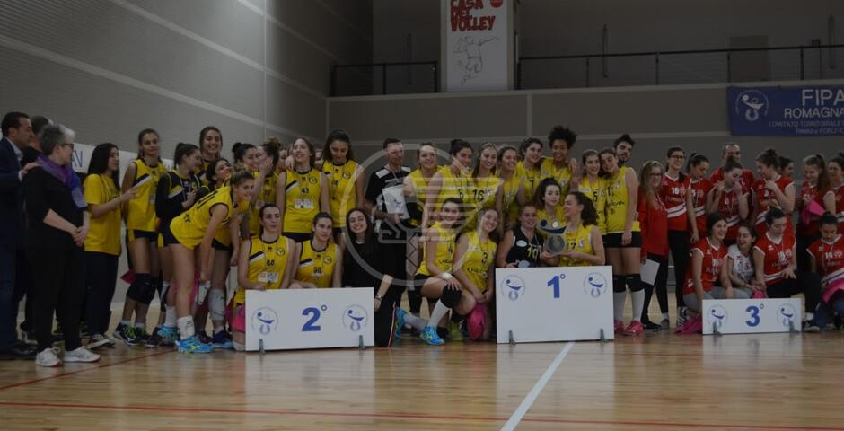 B-Volley Romagna argento ai campionati under 18