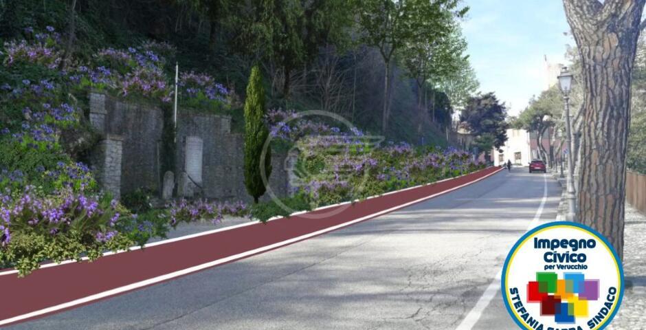 Welcome Verucchio: 4 cartoline floreali agli ingressi e progetto di riqualificazione