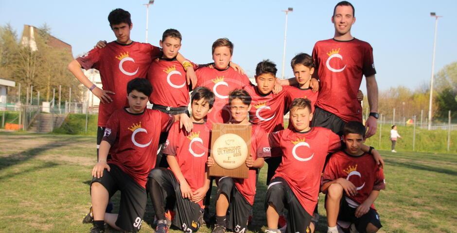 Frisbee: Cota King campioni italiani under 14