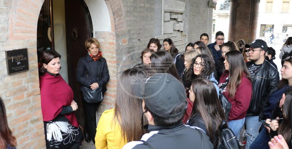 Studenti di Lioni ricevuti alla Casa delle Donne