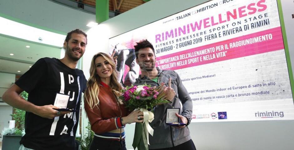 Tamberi e Orsi hanno aperto RiminiWellness