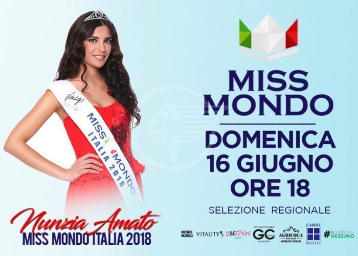 Casting e selezioni per Miss Mondo Italia