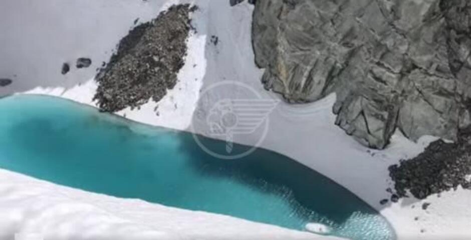 """Il """"Mare sul ghiaccio"""", il quadro poco romantico del Monte Bianco"""