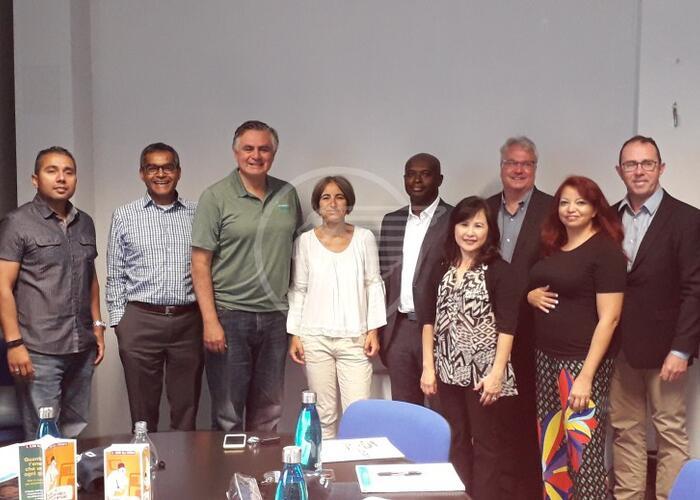 Delegazione di Los Angeles al depuratore di Santa Giustina