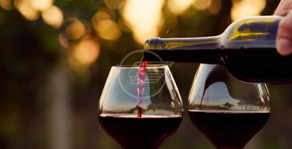 Il vino rosso fa bene con moderazione