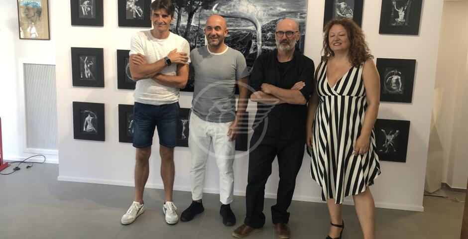 """Schiele alla Galleria Zamagni per """"La Voce della Pittura"""""""