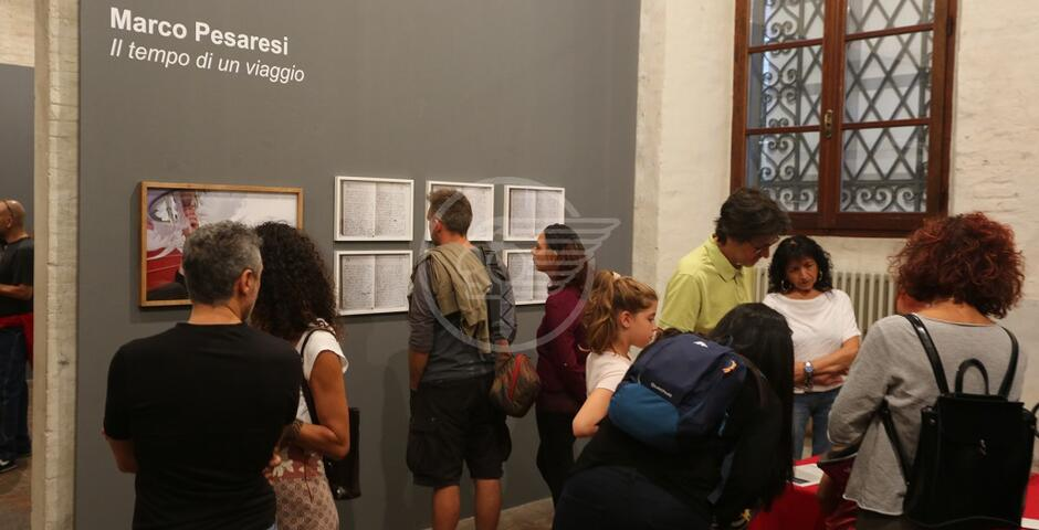 Inaugurata la mostra di Marco Pesaresi