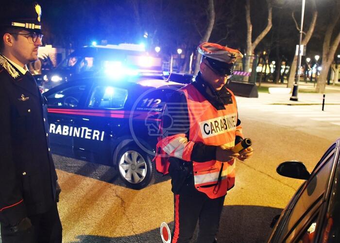 Un arresto e 9 denunce nel weekend dei carabinieri