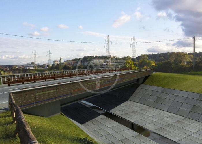 Rotatoria Padulli: nasce il nuovo ponte sull'Ausa