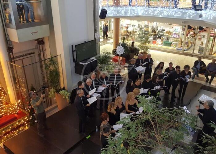 Concerto della Corale al Centro Atlante di Dogana