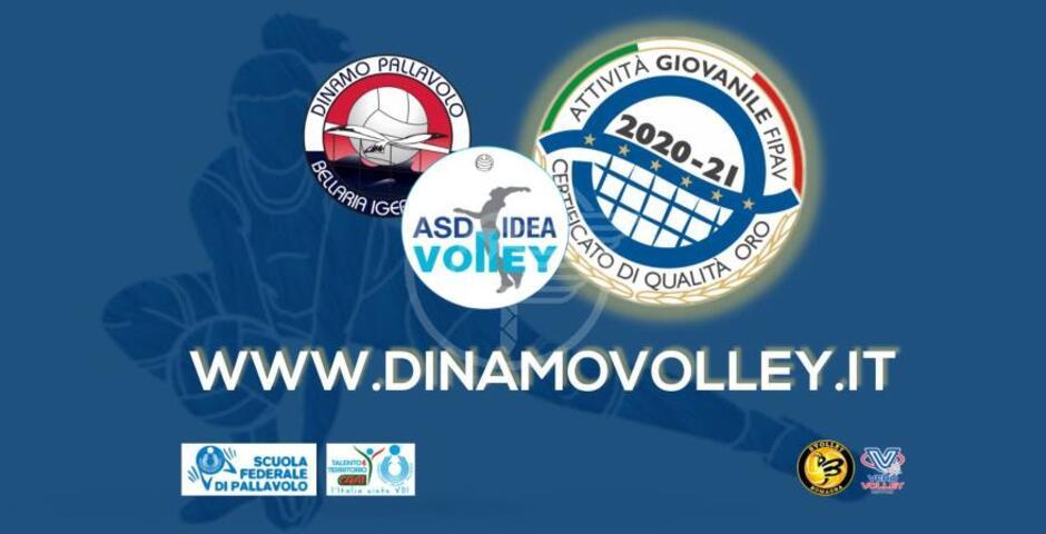 Oro e argento per Dinamo Volley e Idea Volley Rubicone