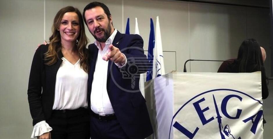 Domenica arrivano Salvini e la Borgonzoni