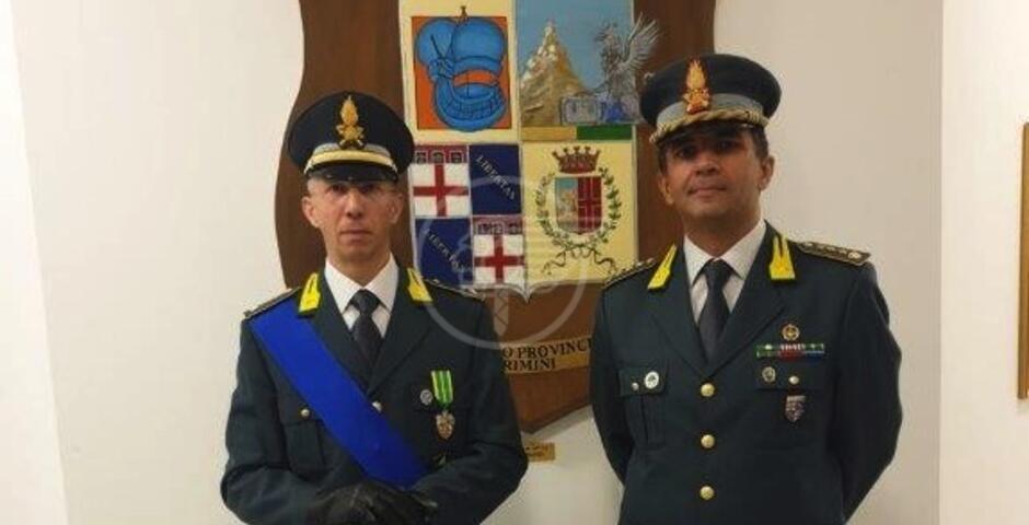 Nuovo ufficiale al Comando Provinciale Fiamme Gialle