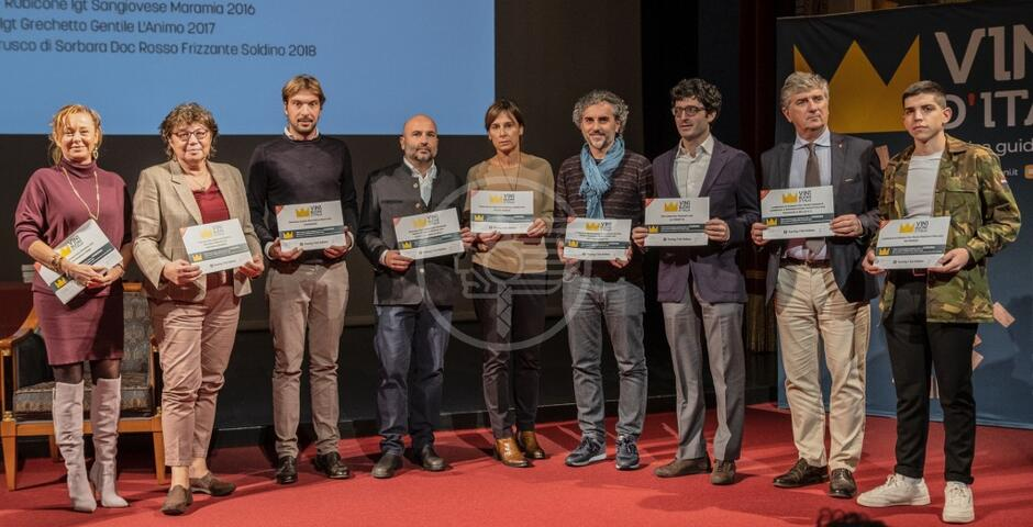 """Il vino """"L'Animo 2017"""" di Tenuta Saiano premiato dal Touring"""