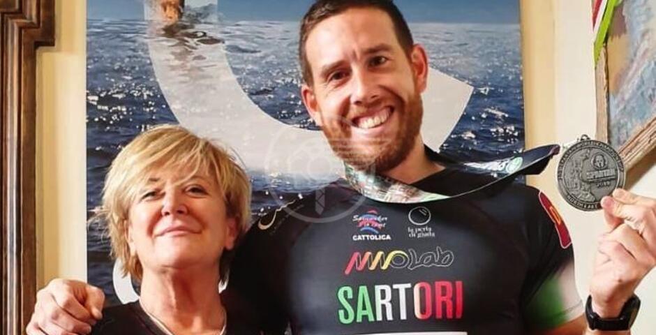 """Sartori racconta il suo Mondiale """"Spartan Race"""""""
