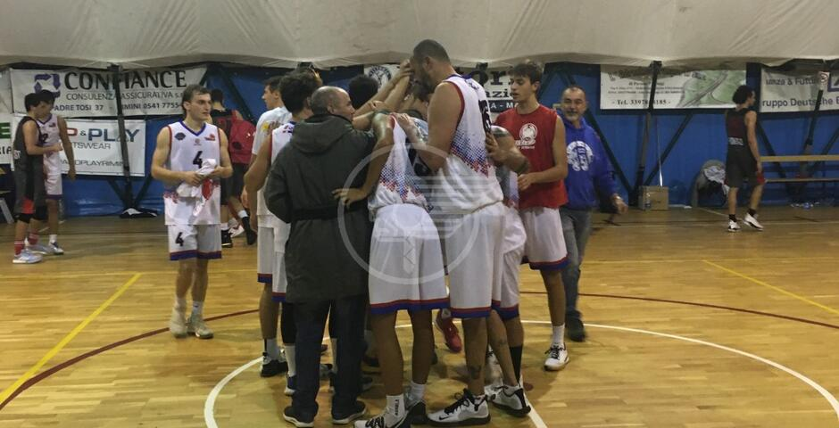 Quinta vittoria in sei partite per il Bellaria basket