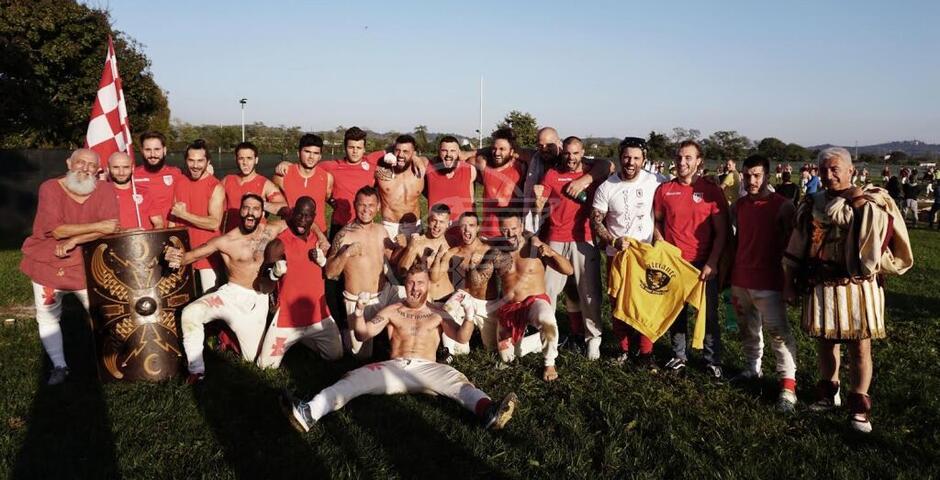 I gladiatori dell'Harpastum si sfidano domenica a Rivazzurra