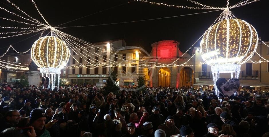 La città di Fellini è ancora più bella a Natale