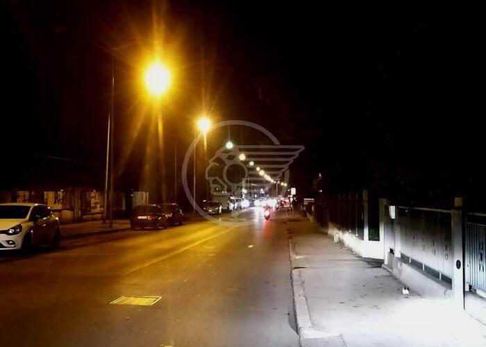 Nuova illuminazione a Led per via Emilia Romagna