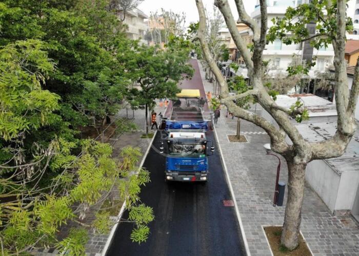 Arredi urbani e asfaltature: 300mila euro di interventi