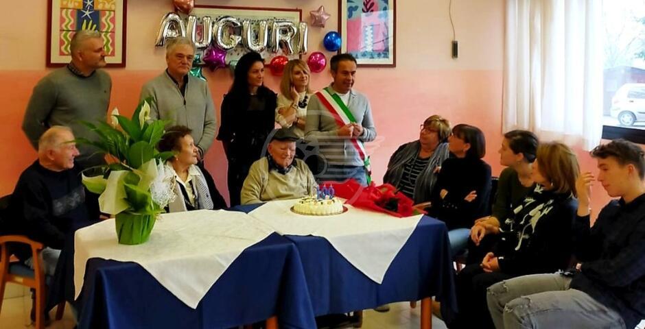 San Giovanni: un secolo di vita per Delfo Stefanini