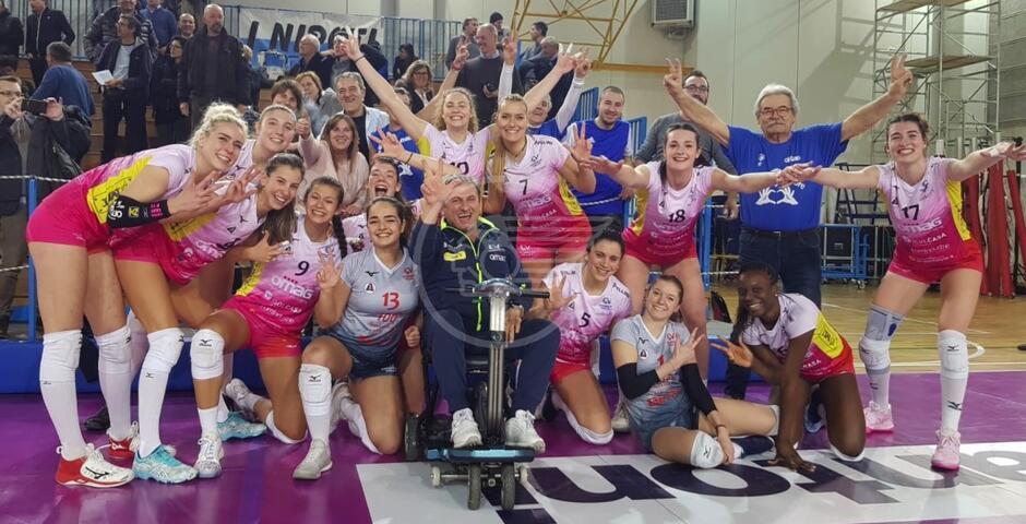 Volley A2 femminile: la Omag corsara a Udine