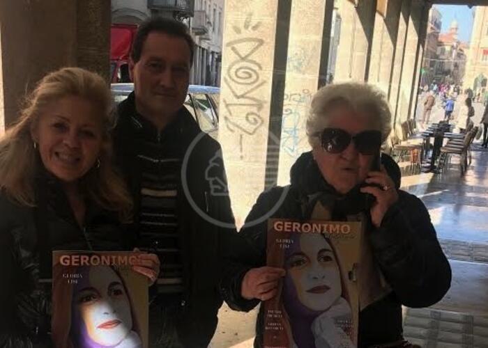 Dall'Umbria a Rimini per una copia di Geronimo Magazine
