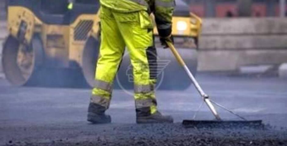 In 17 strade finalmente la nuova asfaltatura