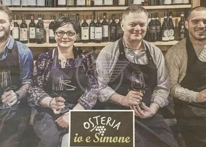 "L'Osteria ""Io e Simone"" fra le top 30 d'Italia, all'11° posto"