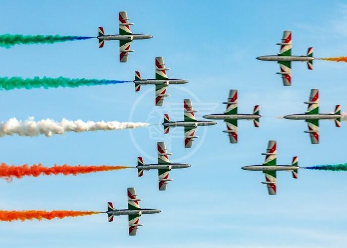 Punta Marina, Bellaria Igea-Marina e Rimini: tornano le Frecce Tricolori