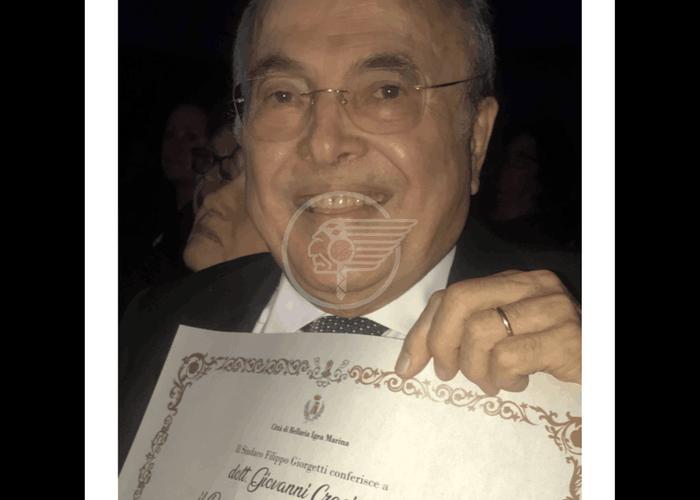 Al Dott. Crociati il premio ALFREDO PANZINI