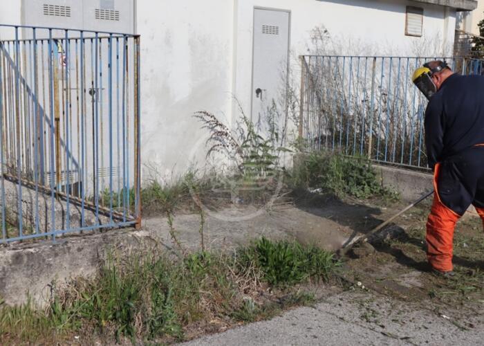 Zona artigianale, al via alcuni interventi di manutenzione