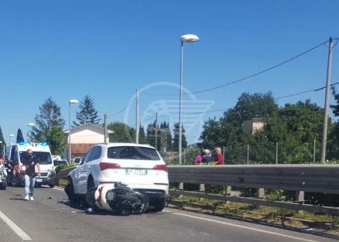 Ancora un incidente sulla Statale 9, ferito scooterista