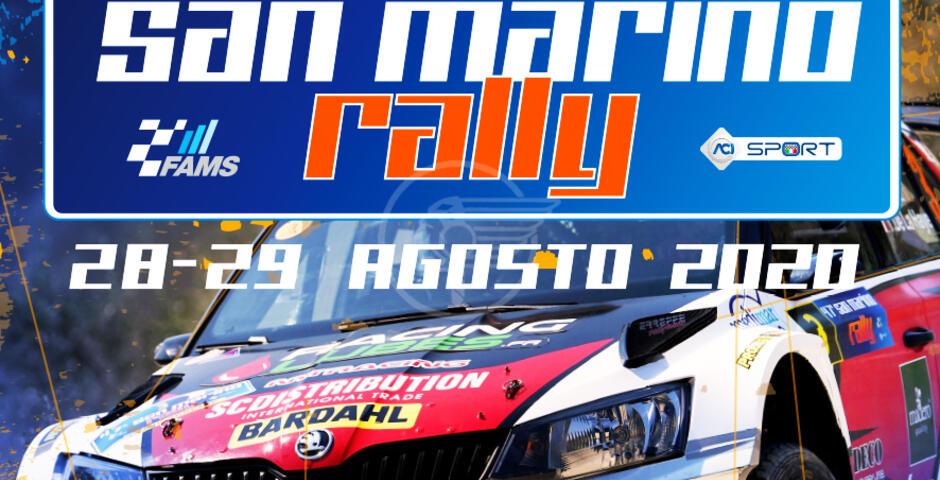 Il rally di San Marino si correrà ad agosto