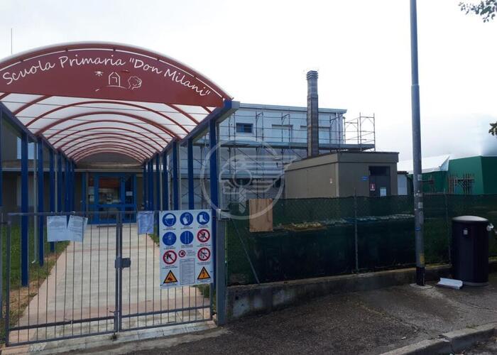 Lavori anticipati alla scuola di Ospedaletto, cantiere già aperto