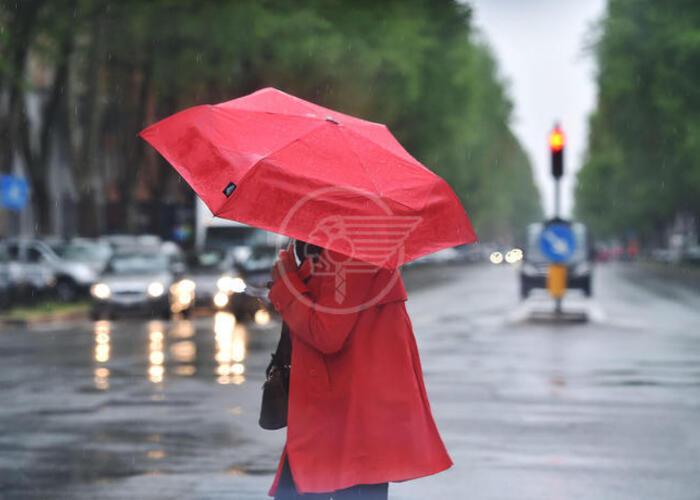 Allerta temporali e grandine in Emilia-Romagna
